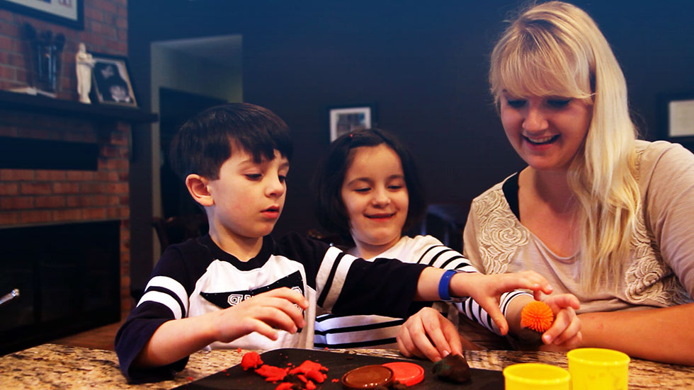 Professional au pair occupational therapist with child with autism PROaupair