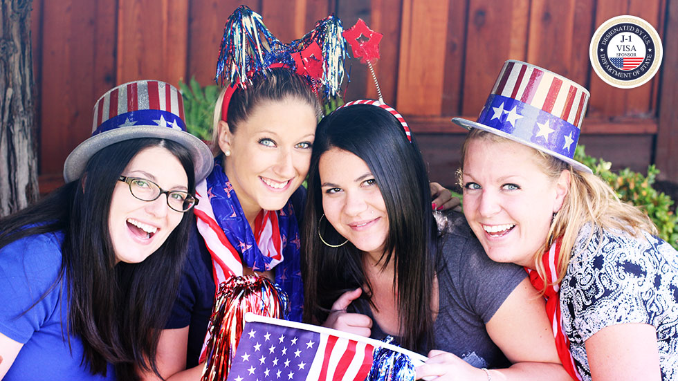Professional au pairs from Department of State program and PROaupair