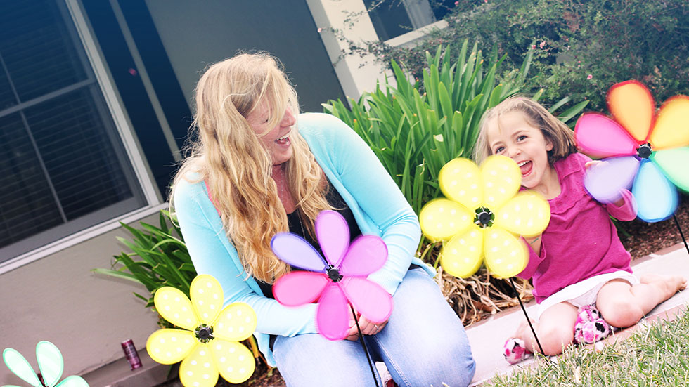 Professional au pair and little girl personality test PROaupair