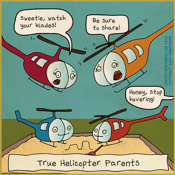 Five Suggestions to Minimize Helicopter Parenting