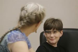 Image autism glass