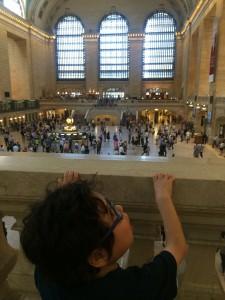 Ben at Grand Central Station.